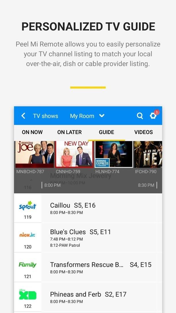 Peel Smart Remote 10 7 4 2 - Descargar para Android APK Gratis