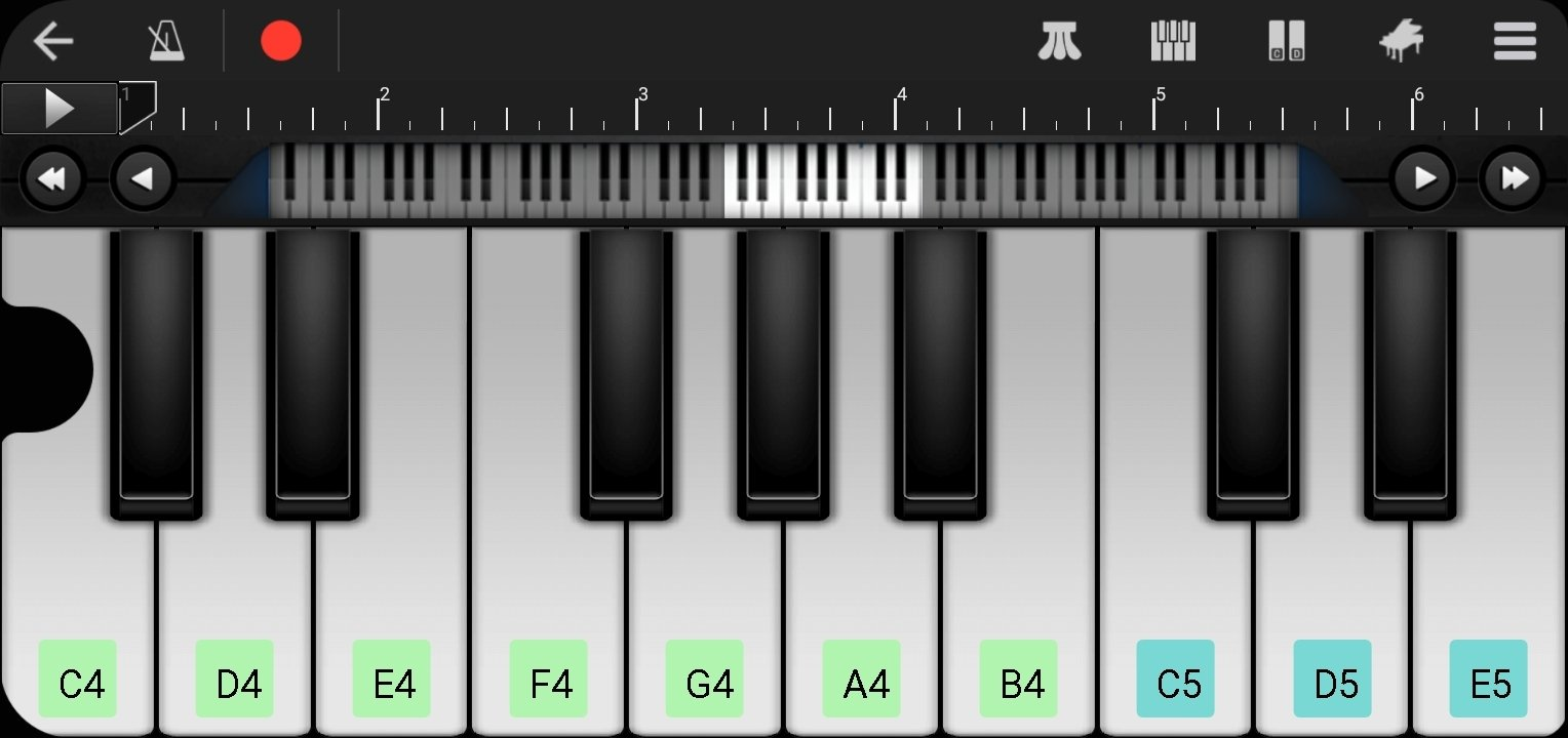 Piano Perfect Android image 6