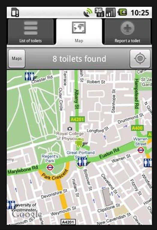 Où sont les toilettes Android image 2