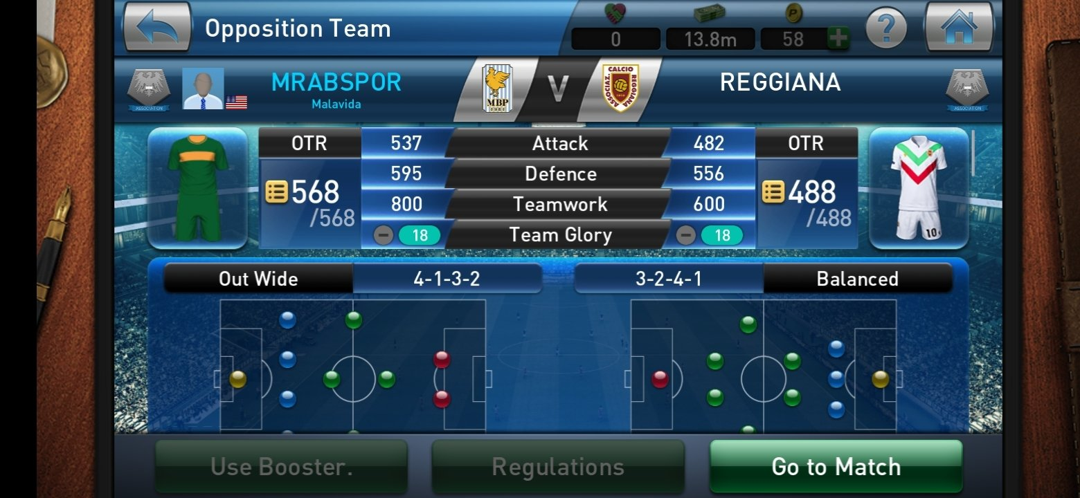 PES CLUB MANAGER Android image 5
