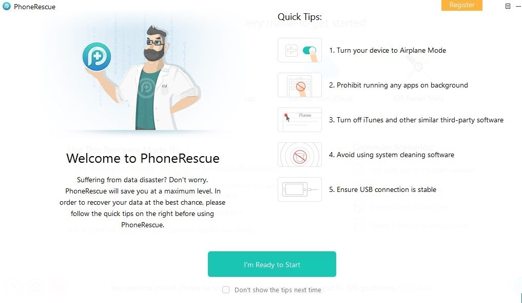 phonerescue ios gratuit