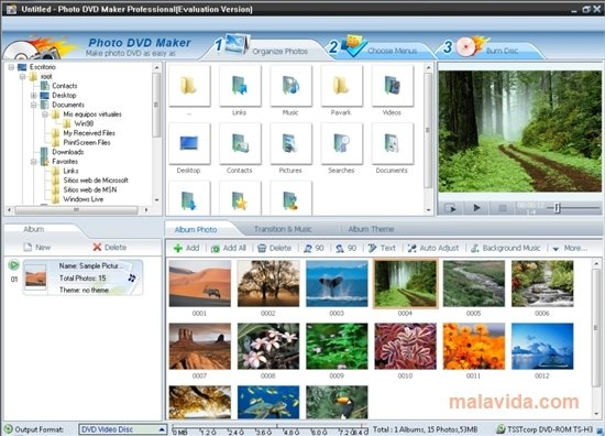 photo dvd maker professional 8.03 gratuit