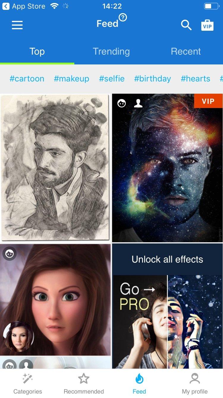 Photo Lab retouche photo: montage et effet photos iPhone image 7