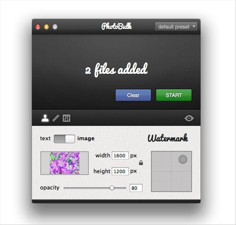 PhotoBulk Mac image 5