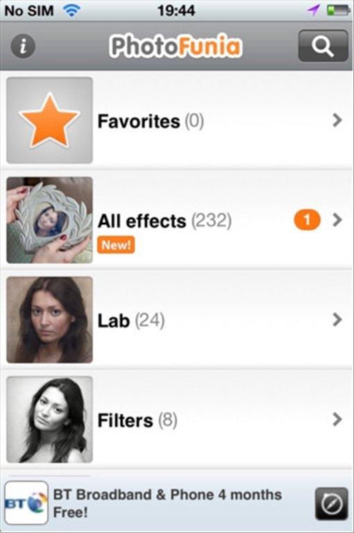 photofunia app for iphone 4