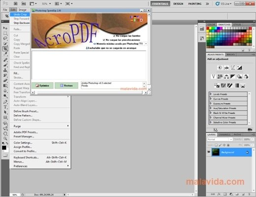 Photoshop SpeedUp