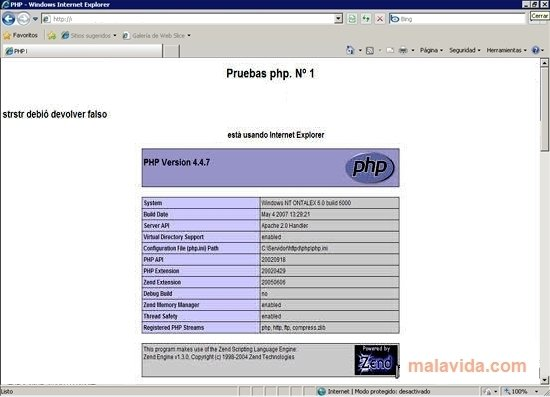 SCARICA PHP5