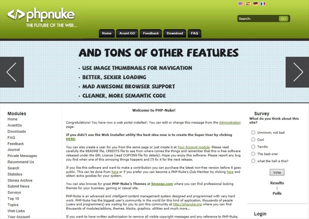 PHP-Nuke image 4