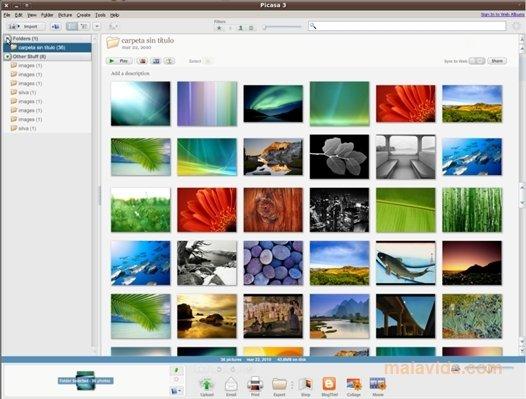 Picasa Linux image 4