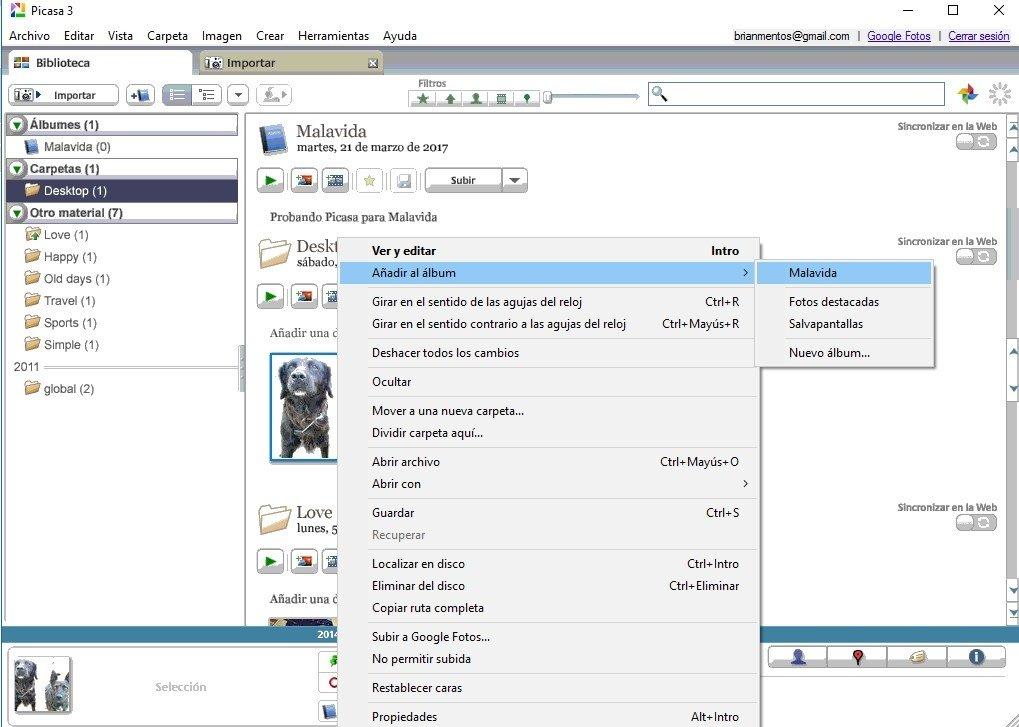 J'utilisait Picasa sur un ancien ordinateur. j ai changé de matériel et suis passé sous windows10.Picasa correspondait parfaitement à mes besoins. Existe t il une version pour windows10 ou un logiciel (gratuit) equivalent.