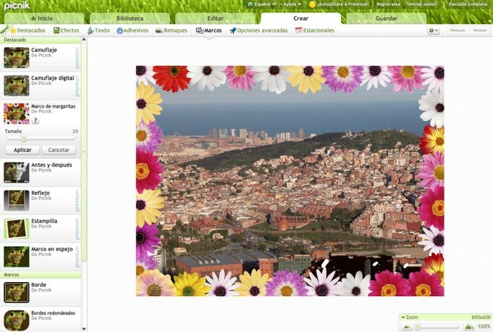 timeless design 6a9a7 b6275 Descargar programa picnic para editar fotos ubuntu
