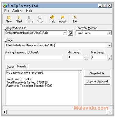 PicoZIP Recovery Tool 1 02 - Download for PC Free