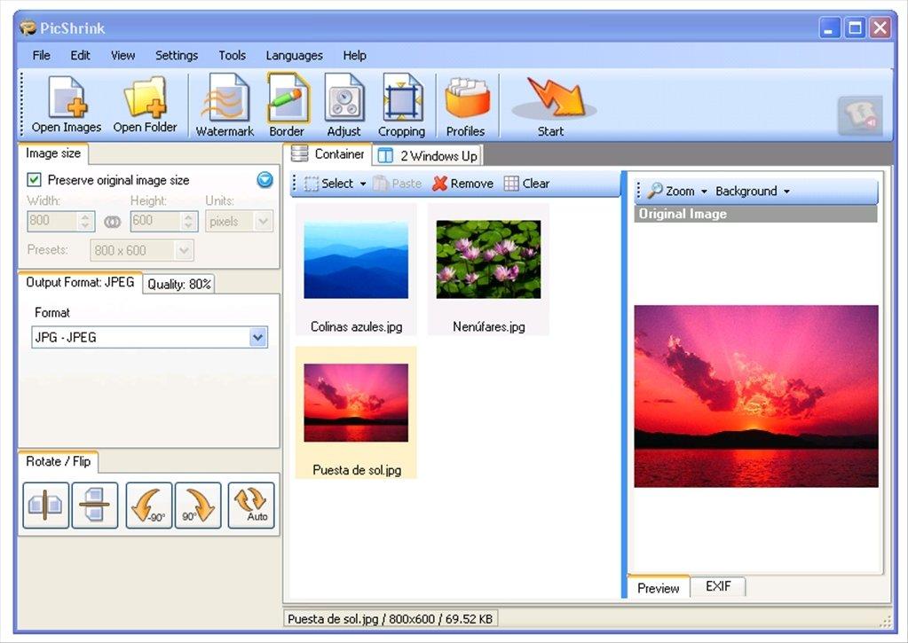 PicShrink image 3
