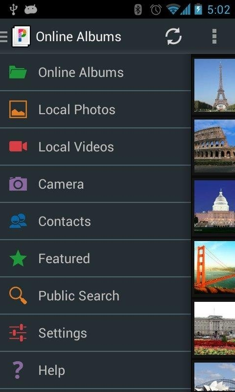 PicsPro pour Picasa Android image 5