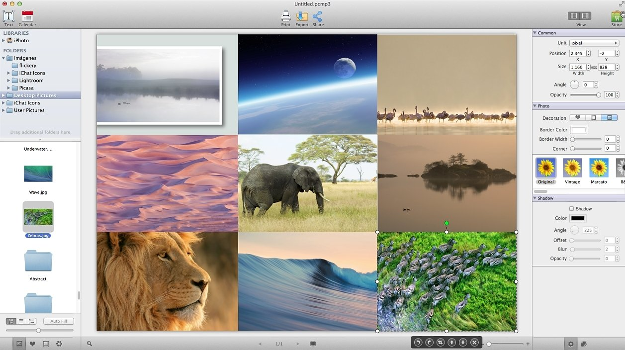 Picture Collage Maker 3 7 3 - Download for Mac Free