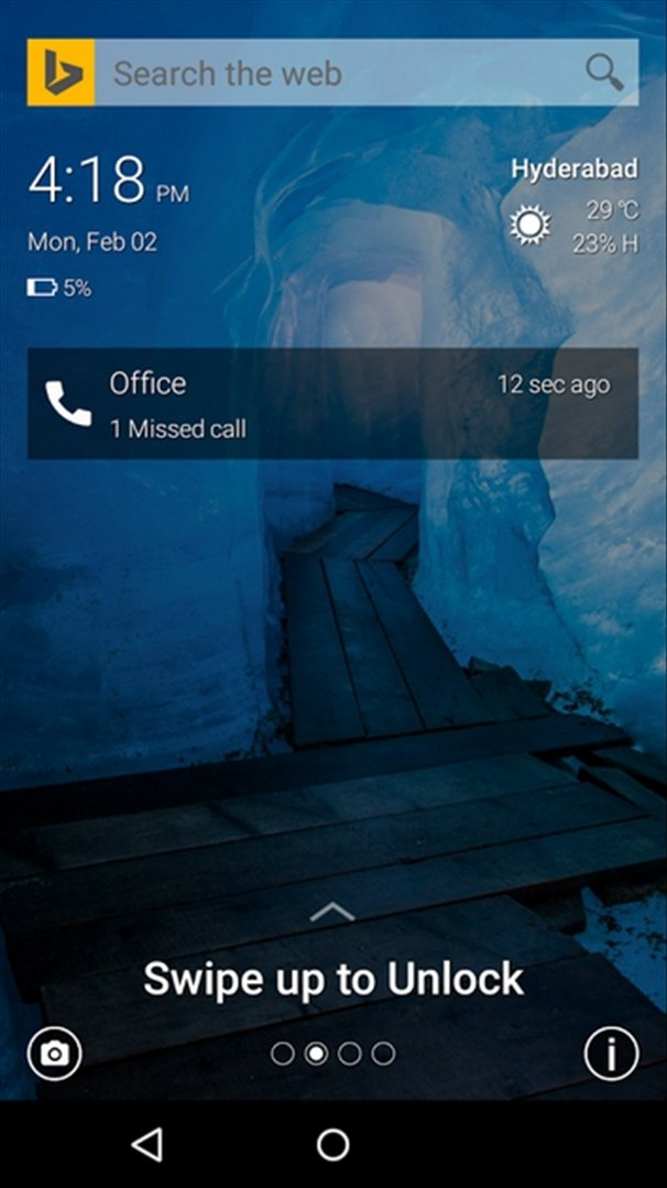 Picturesque Lock Screen Android image 5