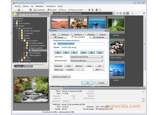 PIE Picture Information Extractor