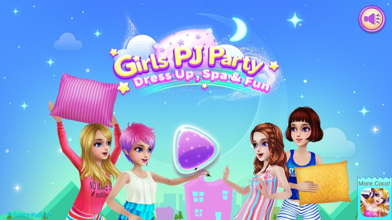 Girls PJ Party - Spa & Fun Android image 6