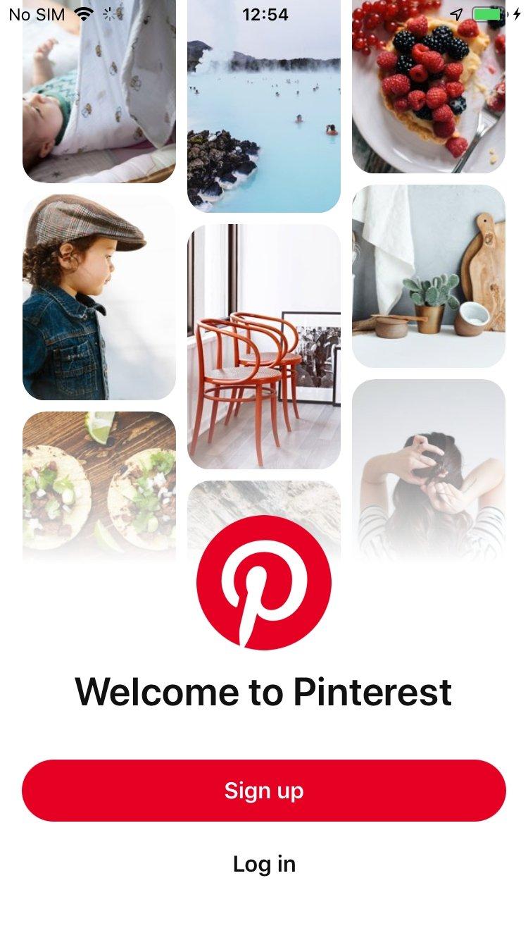 Pinterest   Download für iPhone Kostenlos