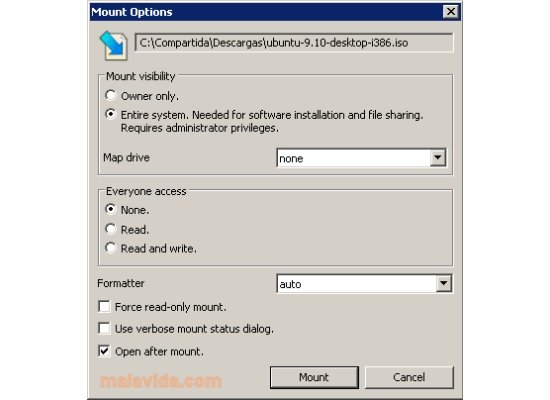 free download to open iso files