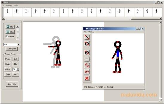 Pivot Animator hay mas Programa para crear animaciones