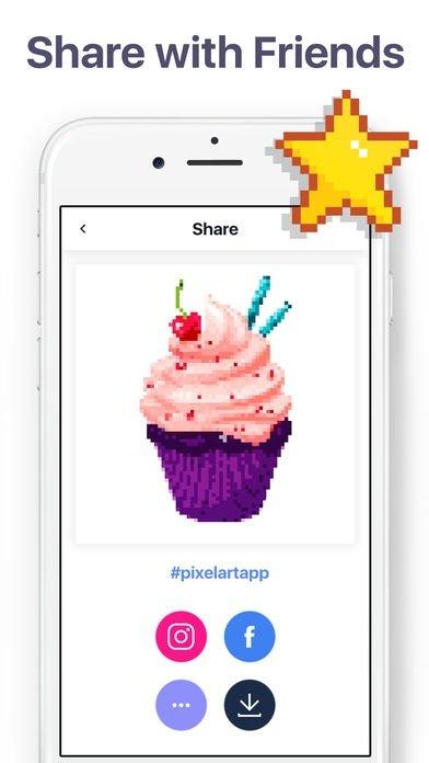 Pixel Art Malen Nach Zahlen Download Für Iphone Kostenlos