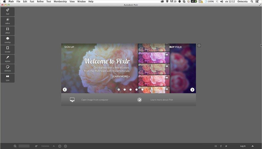 Descargar gratis pixlr com express 2015