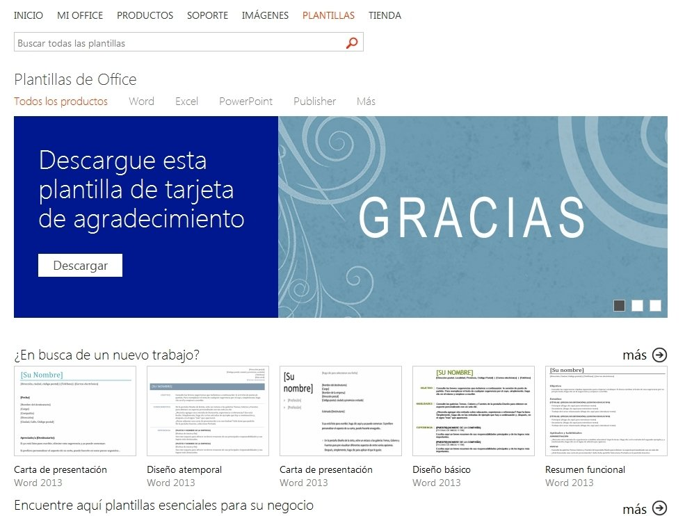Office templates Webapps image 4