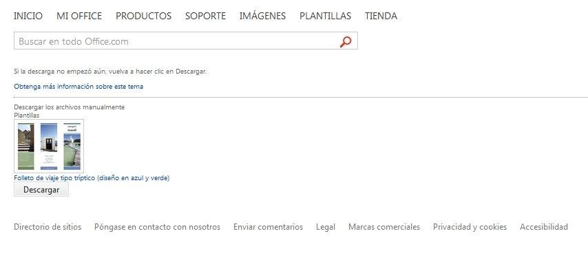 Plantillas de Office Online (Español) - Gratis