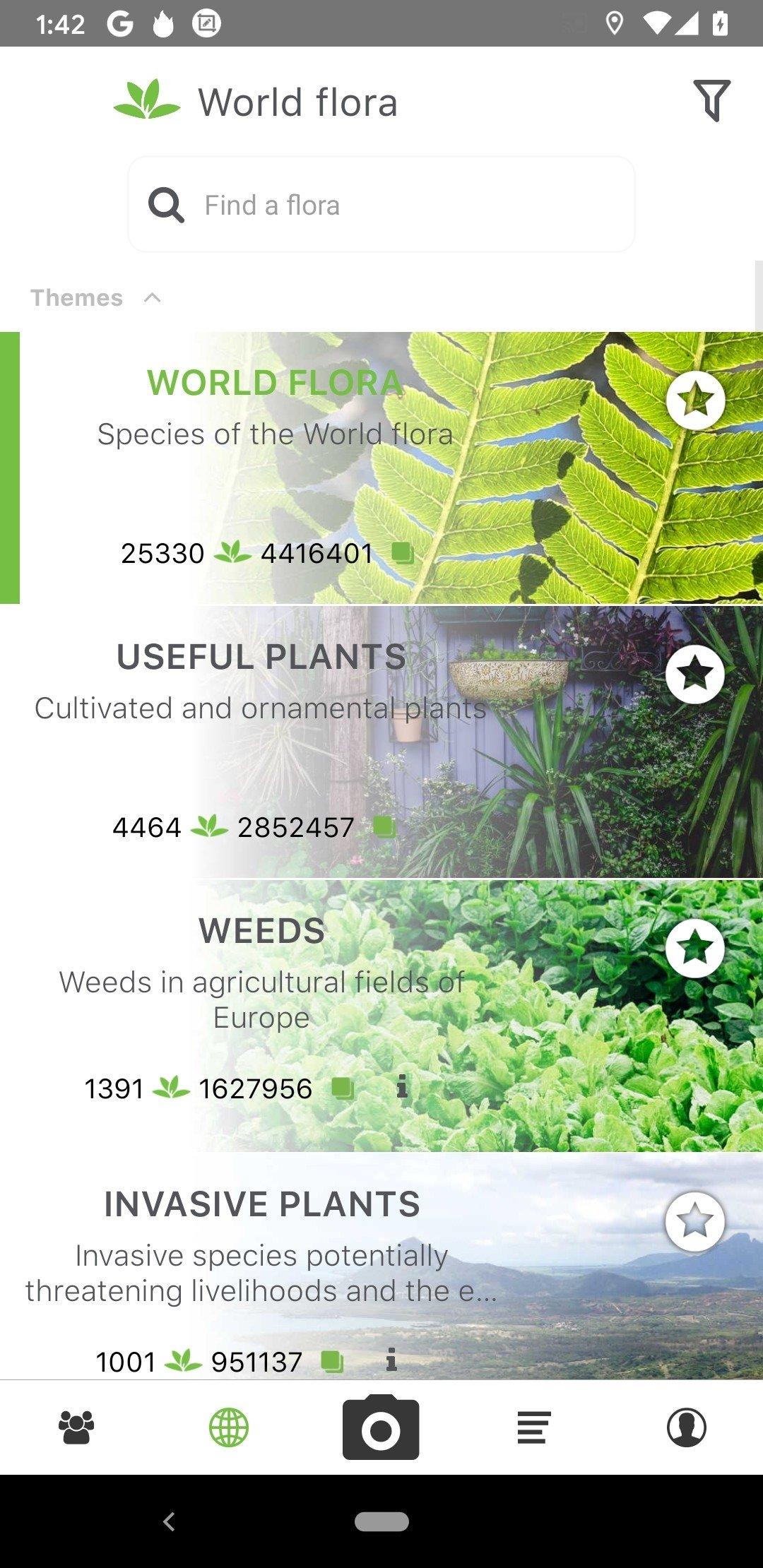 POUR TÉLÉCHARGER ANDROID PLANTNET