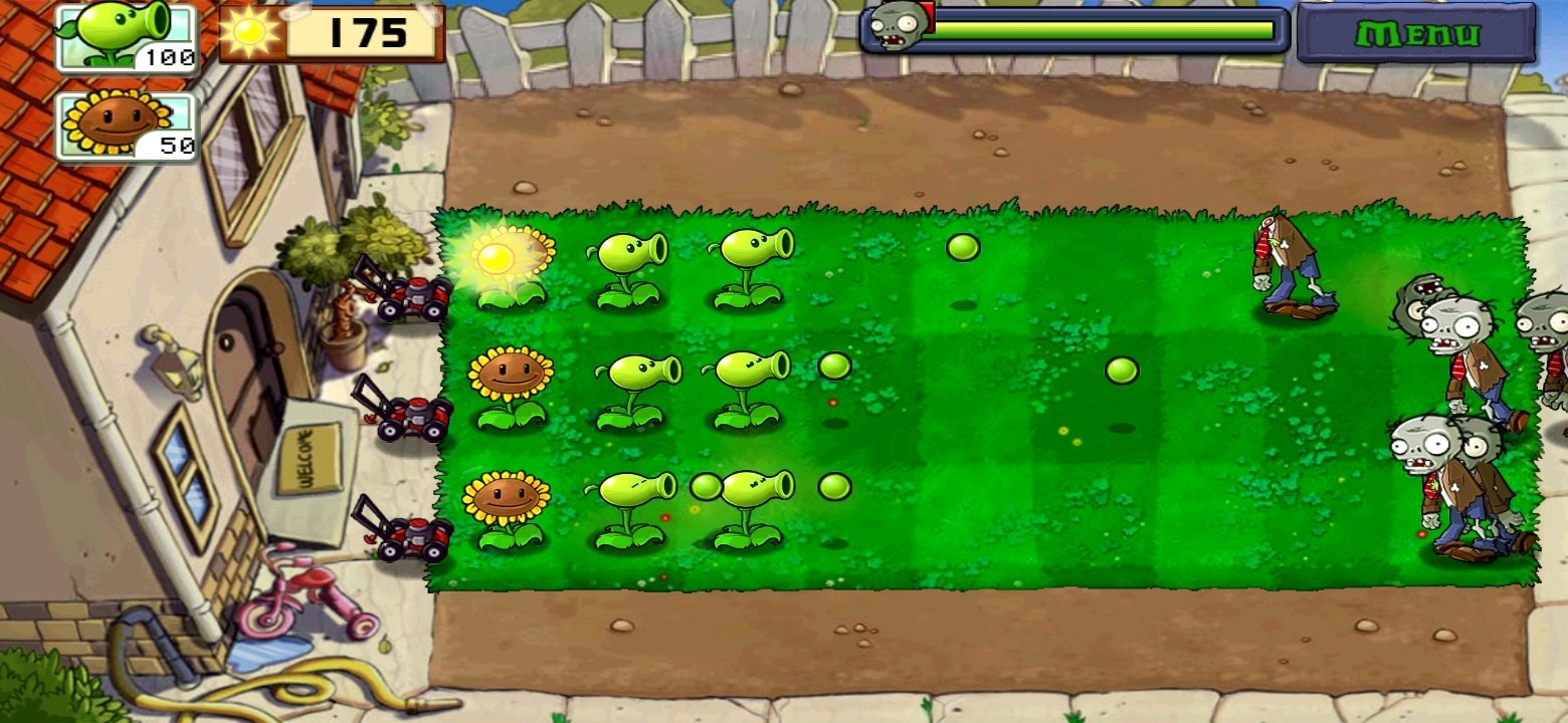 Plants vs. Zombies Android image 8