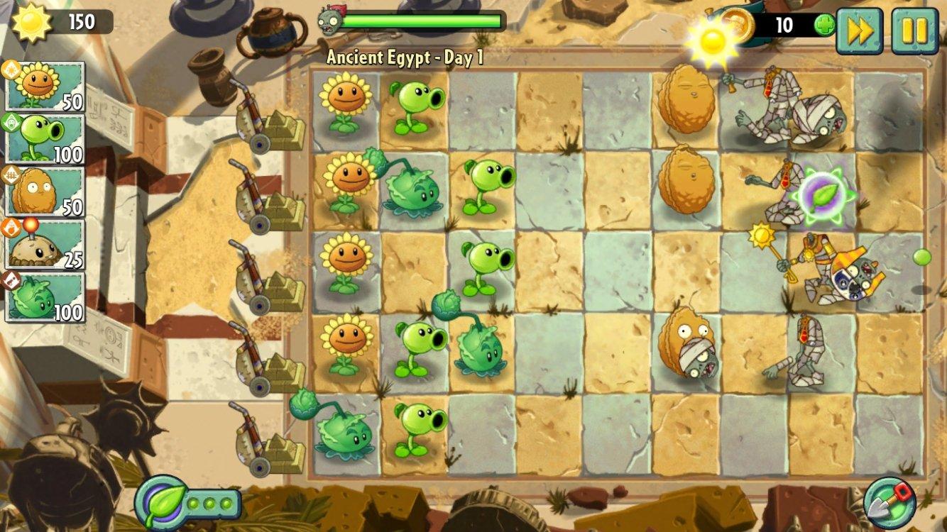 Plants vs. Zombies 2 iPhone image 3