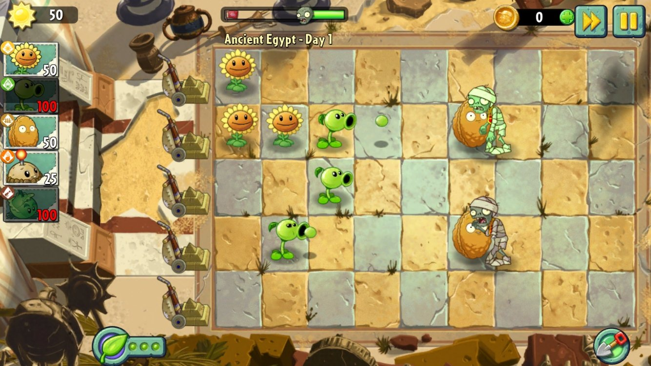Plants vs  Zombies 2 - Download for iPhone Free