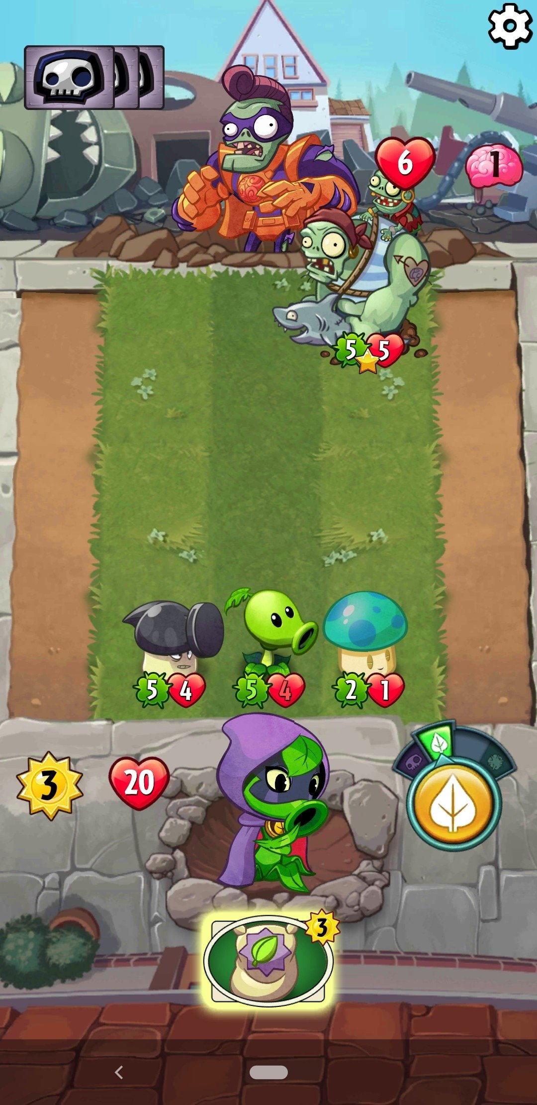 Plants vs  Zombies Heroes 1 24 6 - Download for Android APK Free