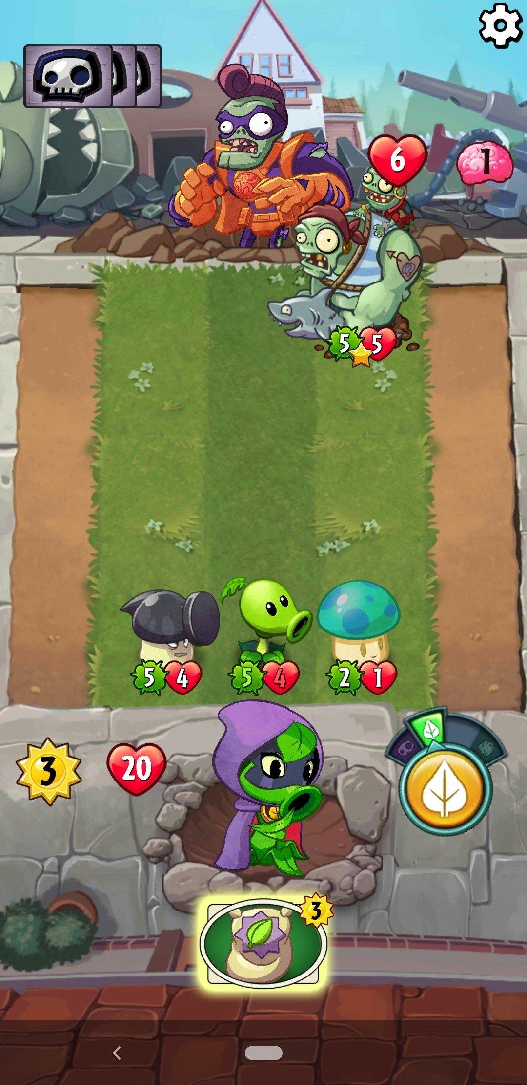 Plants Vs Zombies Heroes 1 24 6 Descargar Para Android Apk Gratis