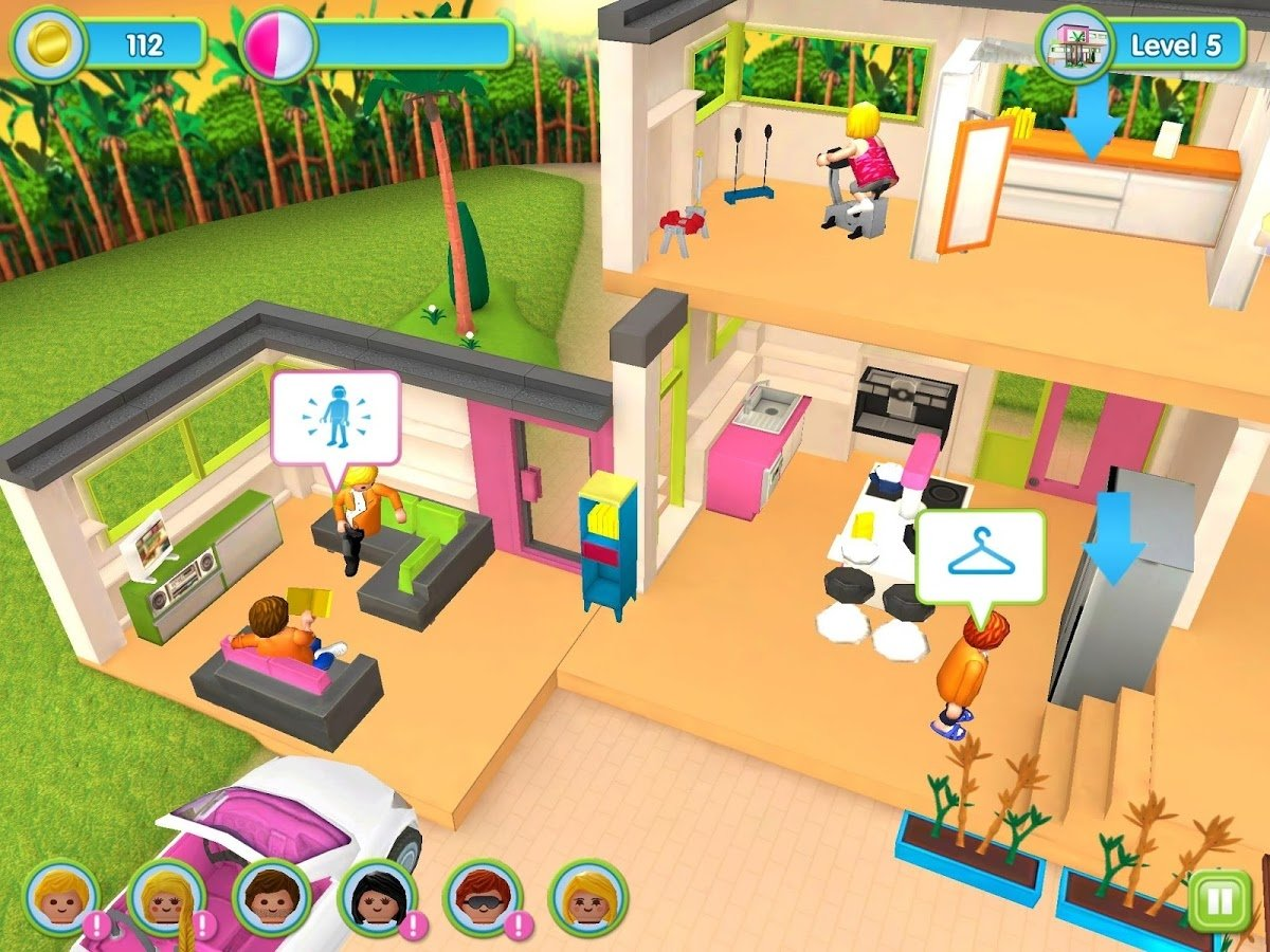 Descargar playmobil mansi n de lujo 1 1 android gratis for Jeu de fille de decoration de maison gratuit