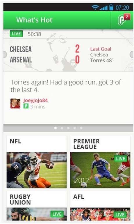 PlayUp Android image 4