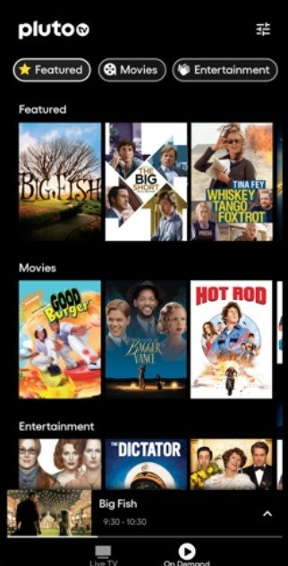Pluto TV - Live TV and Movies - Download for iPhone Free