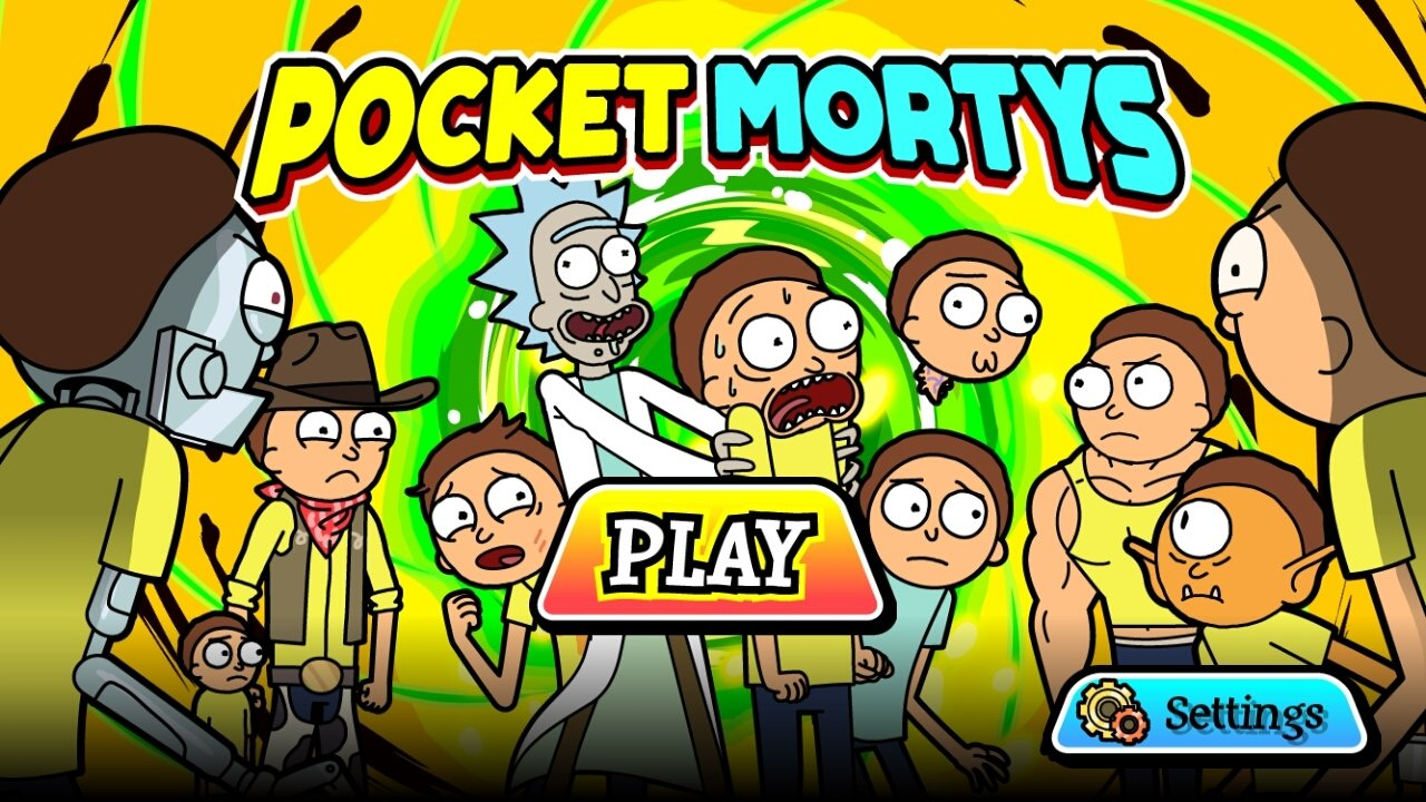 Pocket Mortys Android image 5