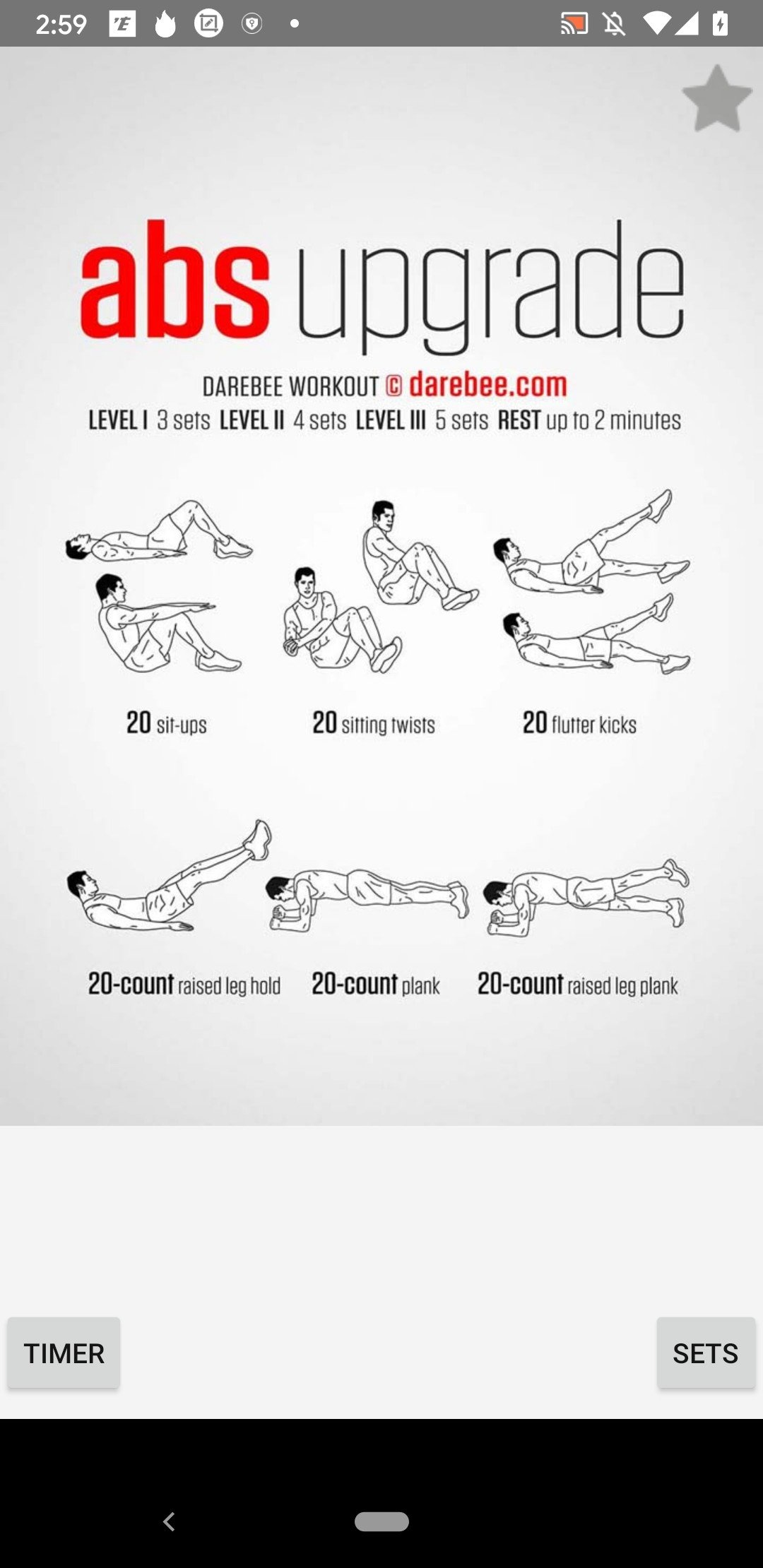 Pocket Workouts Android image 3
