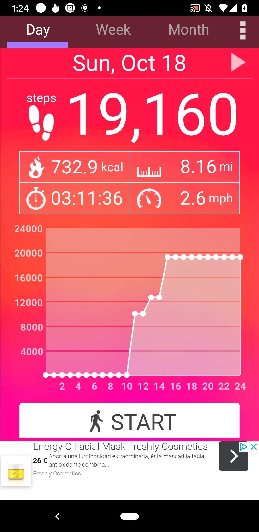 Pedometer Android image 5