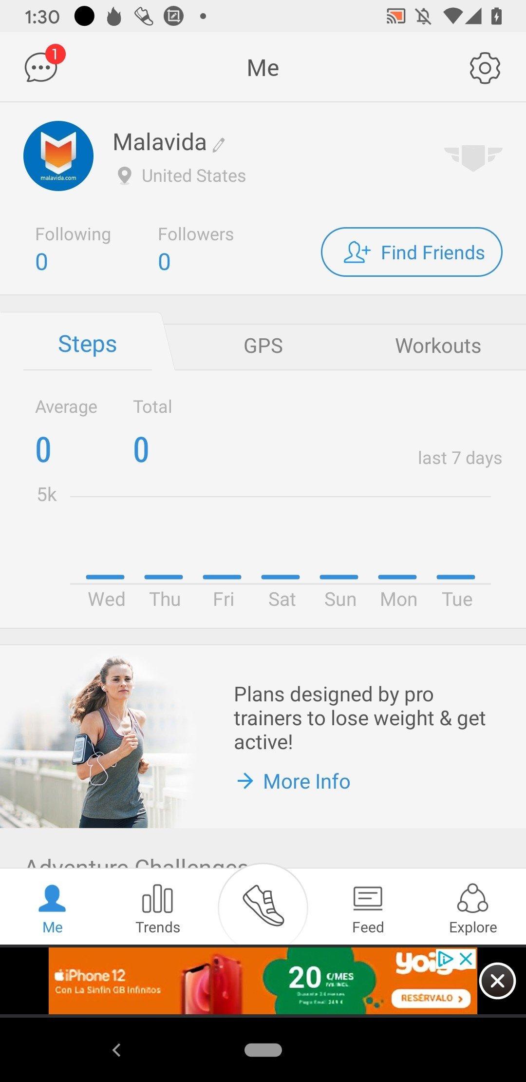 Podomètre & Perte de Poids Android image 7