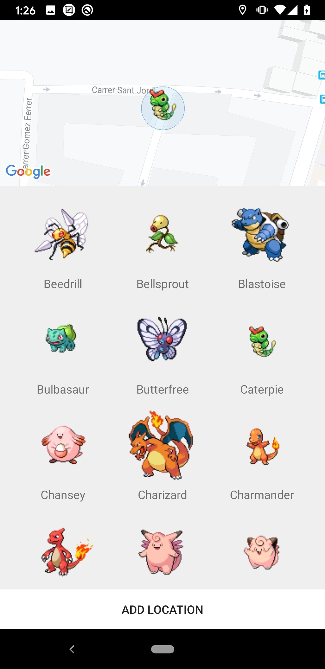 free pokemon radar