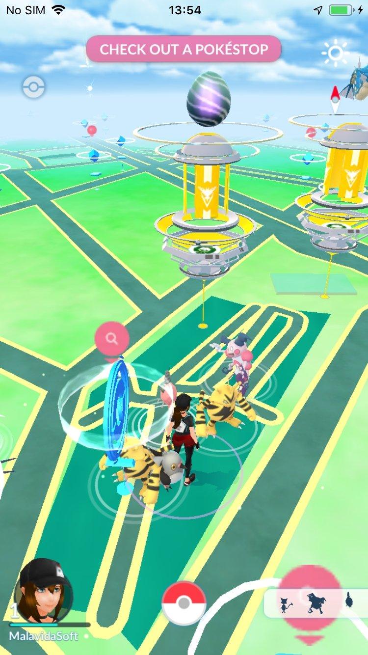 Pokémon GO iPhone image 5