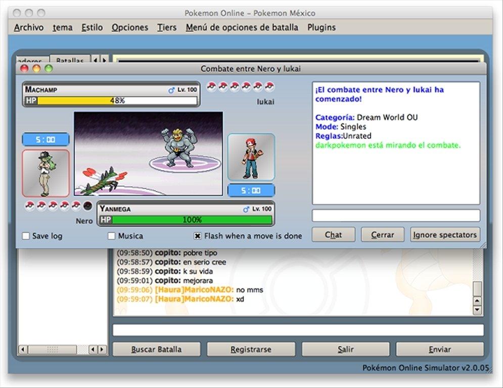 Pokemon Online Mac image 6