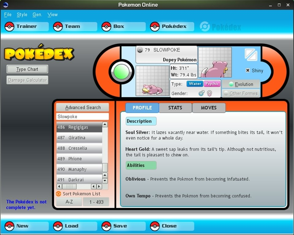 Pokemon Online Linux image 2