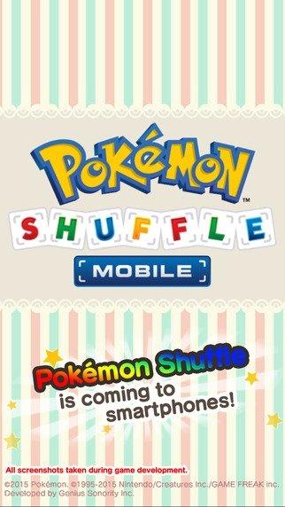 Pokémon Shuffle Mobile iPhone image 3