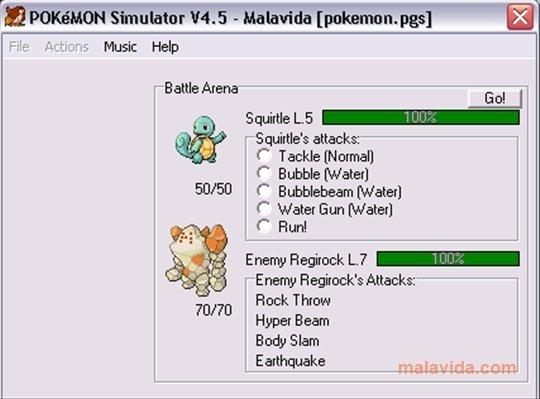 Pokemon Simulator 4 5 - Download for PC Free