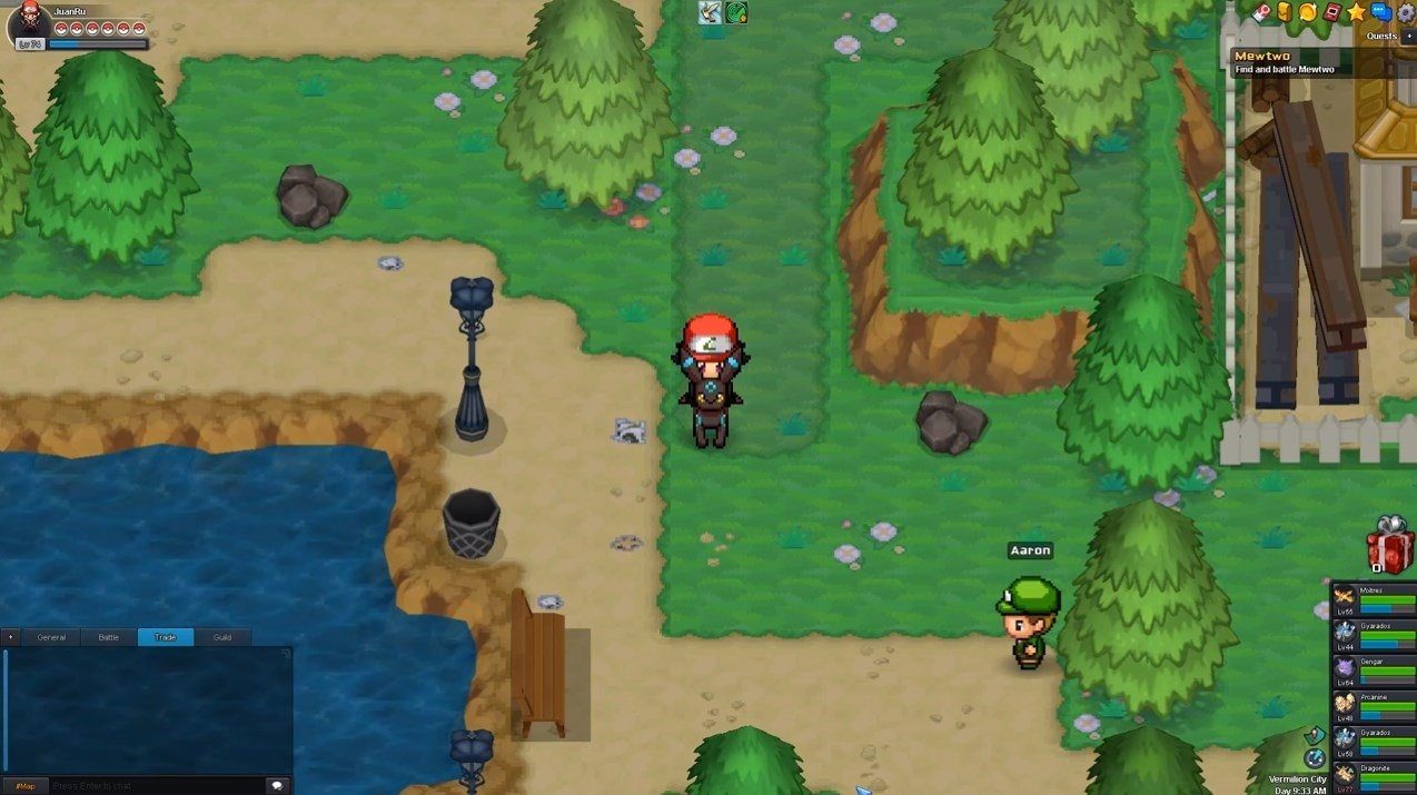 Pokemonpets: online free mmorpg game for pokemon masters.