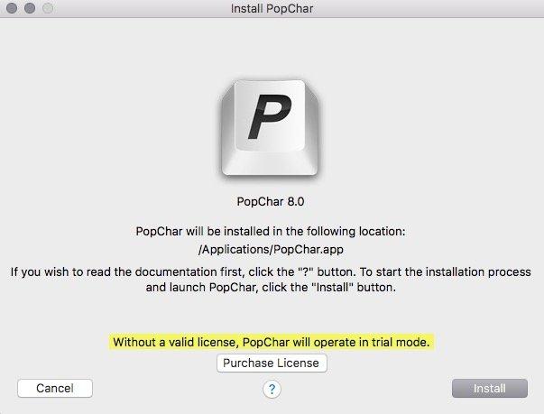 PopChar 8 5 - Download for Mac Free